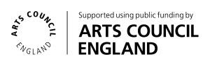 Arts Council England logo. Click to go to the Arts Council website