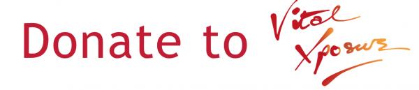 Donate to Vital Xposure button
